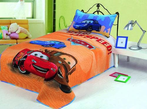 детское мягкое покрывало на кровать для мальчика