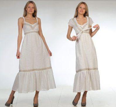 лён для пошива платья