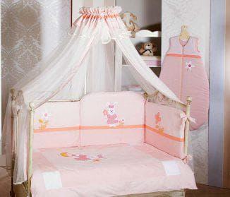балдахины на кроватку для новорожденных девочки