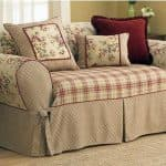 из какой ткани сшить покрывало на диван