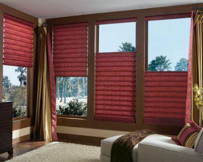 традиционные римские шторы на пластиковые окна