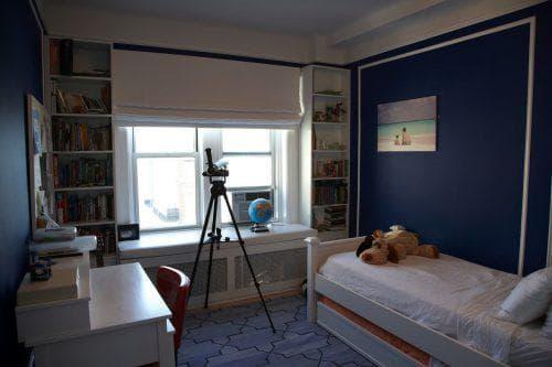 римские шторы в детскую комнату мальчика