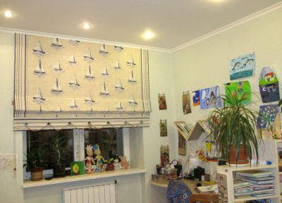 римские шторы в детскую комнату от Garden