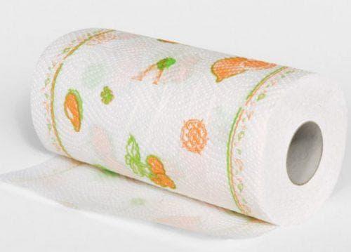 кухонные полотенца в рулонах