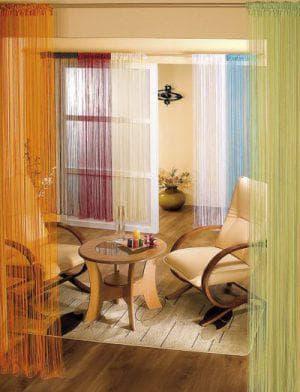 Нитяные шторы от производителя Визан