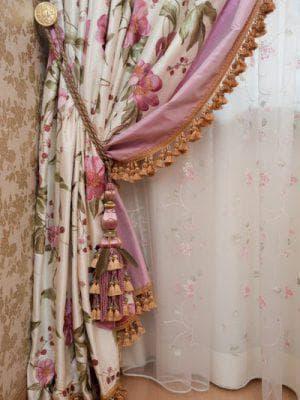 Декоративные шторы на одну сторону