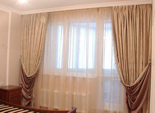 шторы из фукры