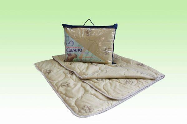 плед из верблюжьей шерсти на односпальную кровать