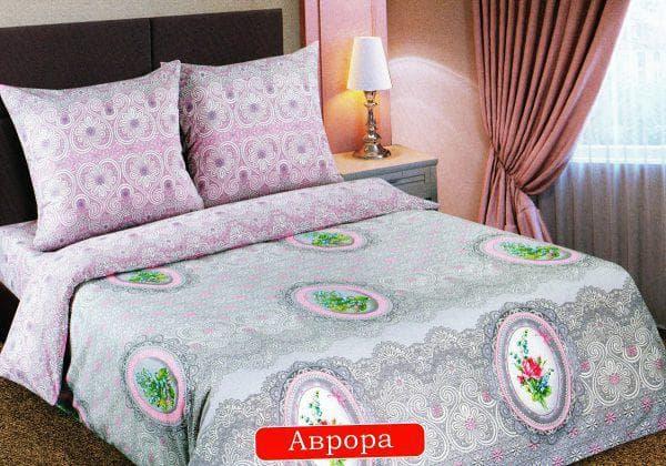 постельное бельё из поплина Аврора