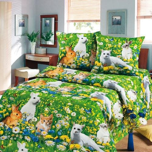 На полуторную кровать «Солнечный зайчик»