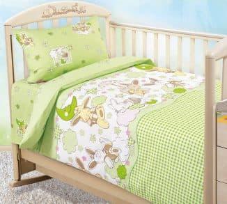 ткань для детского постельного белья