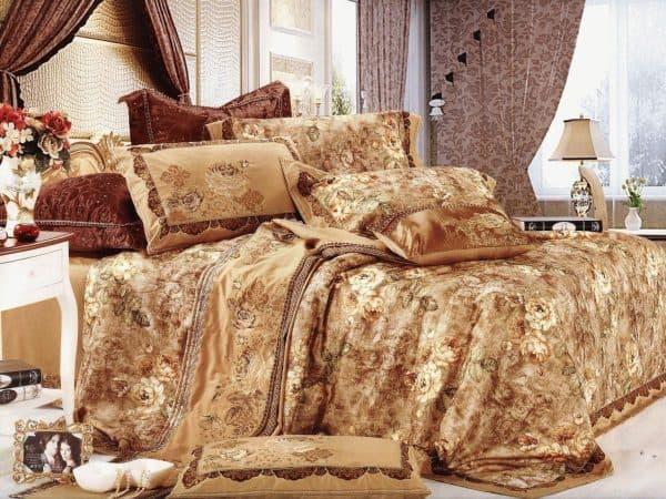 постельное белье сайлид сатин с гобеленом