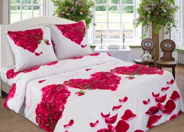 комплект постельного белья арт дизайн